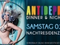 "Dinner Gala Show ""Antidepressiva"""